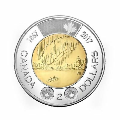 2017 Canada Toonie - Dance of the Spirits $2 Coin Candian 150 Bi-Metallic
