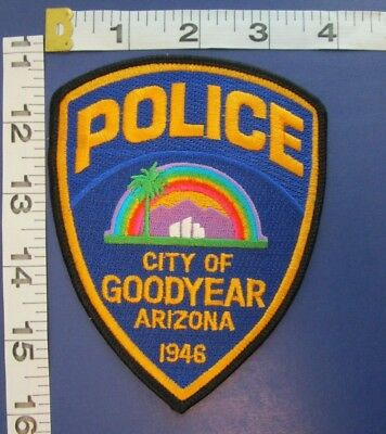 city of goodyear arizona police shoulder patch