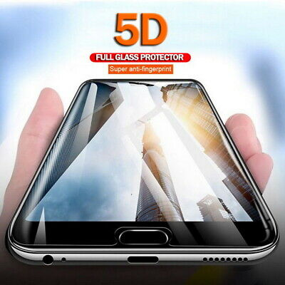 5D Cover Premium Screen Protector Temper Glass For iPhone XS Max XR X 8 7 11 Pro