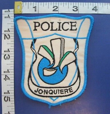 Jonquiere Canada Police Shoulder Patch
