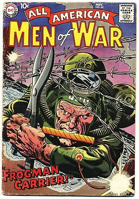 ALL AMERICAN MEN OF WAR #63 G, Drucker, Pre Sgt. Rock Easy Co., DC Comics 1958