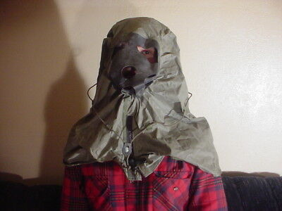 Safety Hood Chemical, Biological Military Surplus New - Unused