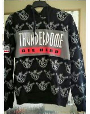 Thunderdome Hoodie Pullover Die Hard ~ Hardcore Gabber id&t