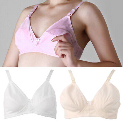 Women Maternity Nursing Bra Pregnancy Breast Feeding Wire Free Underwear Clothes