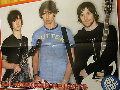All American Rejects, Zac Efron, Double Four Page Foldout Poster