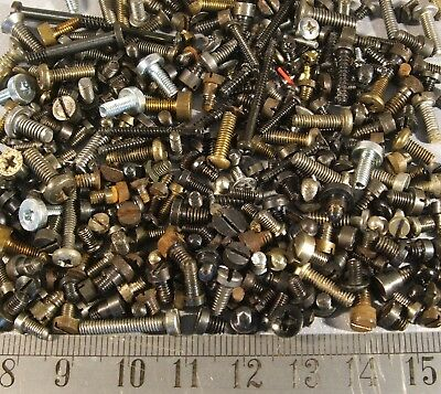 Camera (+ Other) Parts Spares Machine Screws Steel / Brass Many Types See Below