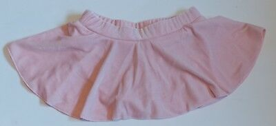 Pink Ice Figure Skating Skirt w Attached Panty Child XS fits 2-4 Year Old