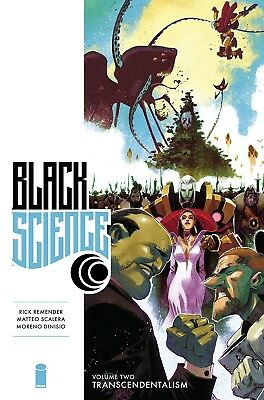 BLACK SCIENCE VOL #2 PREMIERE HARDCOVER TRANSCENDENTALISM Collects 17-30 HC