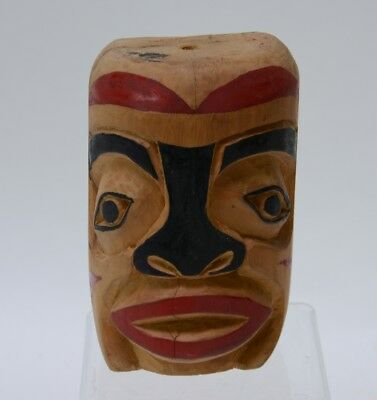 Tsimshian Carved and Painted Mask / Totem - Mid 20th Century