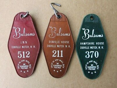 3 Balsams Grand Resort Hotel Room Key Tag Balsams Inn Dixville Hampshire Houses