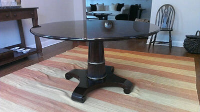 thomas pheasant for baker furniture 7837g 54 round pedestal
