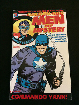 GOLDEN AGE MEN OF MYSTERY #14 Golden Age Reprints VF Condition