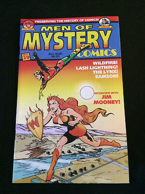 MEN OF MYSTERY #29 Golden Age Reprints VF Condition