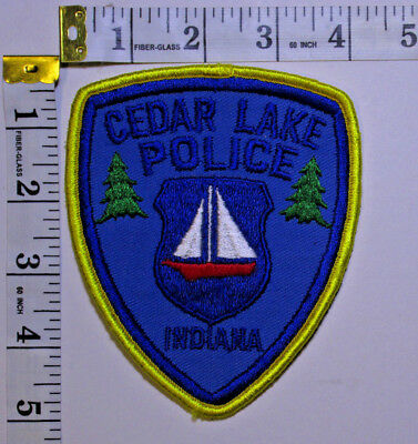 Cedar Lake Indiana Police Department Shoulder Patch