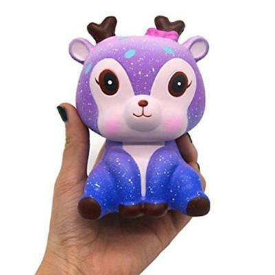 Kawaii Scented Galaxy Deer Animal Squishy Cute Slow Rising Squishies Toy B