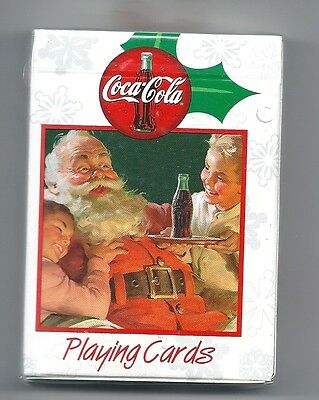 Coca-Cola Brand Santa Claus Playing Cards Bicycle Brand Sealed Brand New
