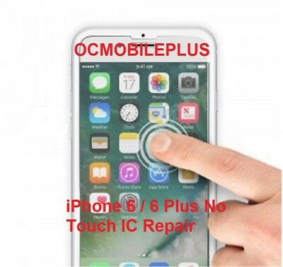 Touch IC Repair Service iPhone 6 Plus Digitizer No Touch Disease