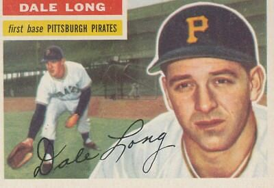 Topps 1956 #56 Dale Long-Pittsburgh Pirates