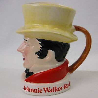 Vintage Johnnie Walker Red Cup Toby Mug Rare Collectible Japan