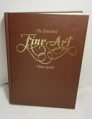 The Standard Fine Art Value Guide 1989 Hard Cover Book ~ Painting Quilts Sketch
