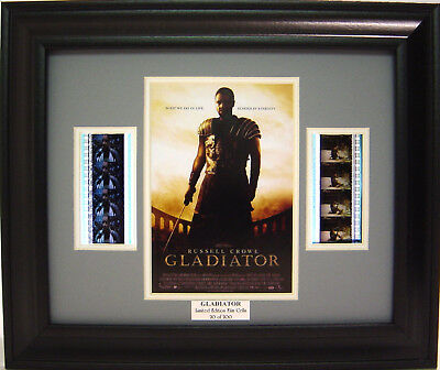 Gladiator Framed Film Cell Russell Crowe