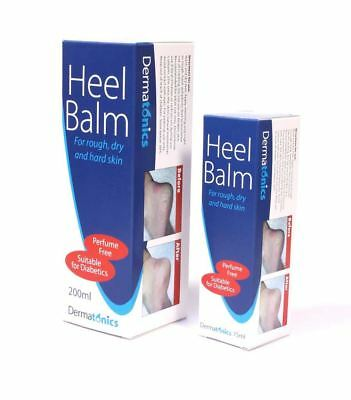 Dermatonics Once Heel Balm 75ml or 200ml For Dry, Cracked Heels - Best Price