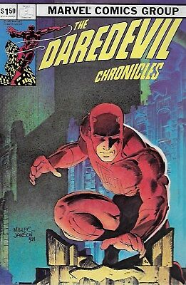 The Daredevil Chronicles No.1 / 1982 Frank Miller Cover, Poster & Interview