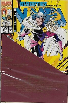 The Uncanny X-Men No.307 / 1993 Signed by John Romita Jr. with Certificate