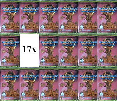 Precedence Babylon 5 The Shadows LOT of 17 Booster Packs
