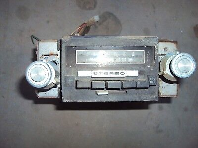 1975 Ford Torino Am / Fm Stereo With 8-Track Player *parts Or Repair*