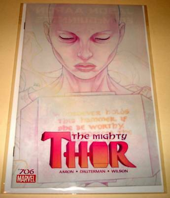 The MIGHTY THOR # 706 Marvel Comic (June 2018)  NM    1st PRINTING