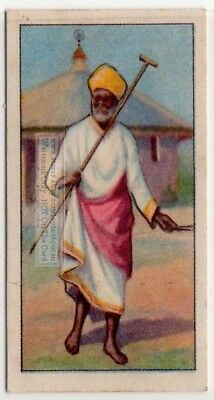 Native African Ayssinian Priest Ethiopia 80+  Y/O Ad Trade Card