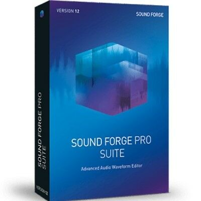 MAGIX Sound Forge Pro 12 Suite Academic Download Audio Editor Software *New*