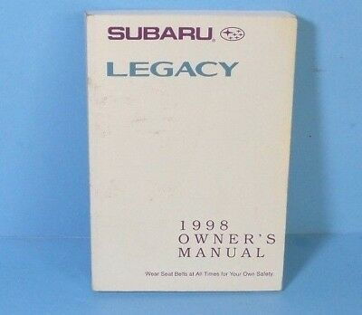 98 1998 subaru legacy owners manual 6 25 picclick rh picclick com 1998 subaru legacy gt owners manual 1998 subaru legacy outback owners manual pdf