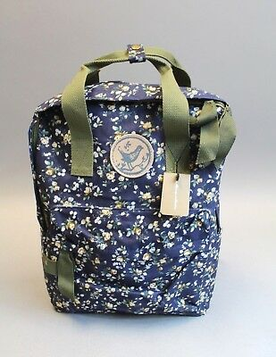 2da9b9675a MICOOP COLLECTION WOMEN S Waterproof Floral Print Backpack GG8 Navy ...