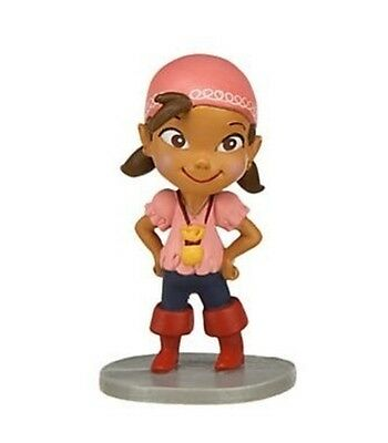 "Disney Jr. Jake and the Neverland Pirates 2.5"" Izzy Action Figurine PVC Toy New"