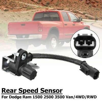 For Dodge Ram 1500 2500 3500 ABS Wheel Speed Sensor Rear Differential # 970-024