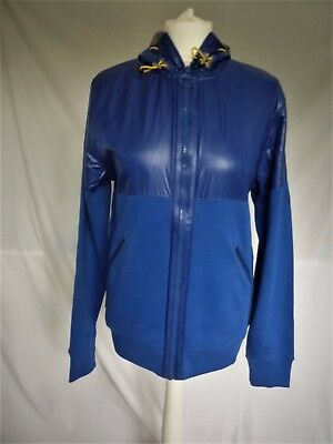 "Bnwt New Barbour Mens Sheen Blue Contrast Coat Jacket M 40"" Receipt Store Bag"