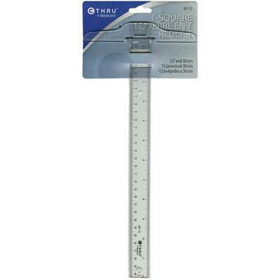 CThru Ruler Junior TSquare 12Inch 30cm