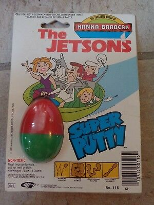 Hanna-Barbera The Jetsons Super Putty (Silly Putty) New in Package 1985