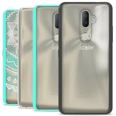 CoverON for ALCATEL 3V Case Slim Fit Hybrid Hard Shockproof Phone Cover