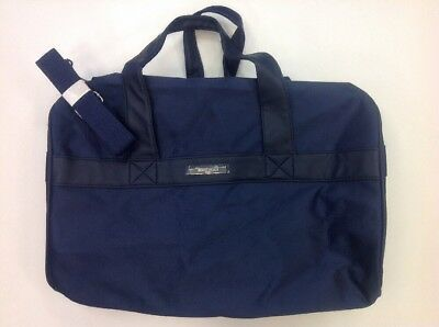d88c9f0b2eac Giorgio Armani Parfums Duffle Bag Dark Blue Travel Gym Bag New Without Tag