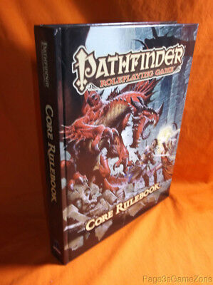 Pathfinder RPG Roleplaying Game Core Rulebook HC Hardcover PZO1110 2013 OGL v3.5