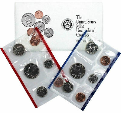 1992 P and D US Mint Uncirculated Coin Set