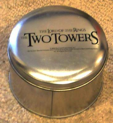 Tolkien ~ LORD OF THE RINGS ~ THE TWO TOWERS WRISTWATCH ~ WATCH ~ IN GIFT TIN