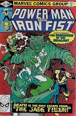 Power Man and Iron Fist No.66 / 1980 2nd App. of Sabretooth / Frank Miller Cover