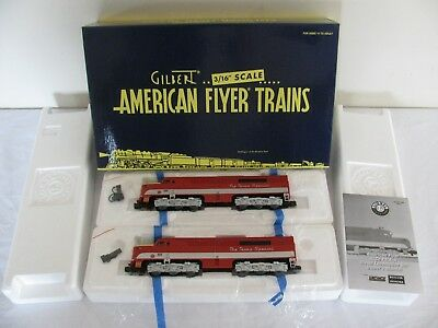 Lionel Legacy American Flyer S Gauge Texas Special Alco PA-1 AA Diesel Set 48162