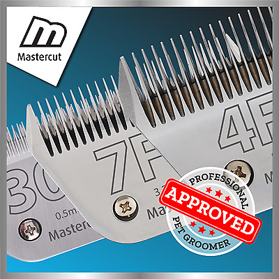 Mastercut Wide Professional Dog Clipper Blades (Fits Oster & Andis)