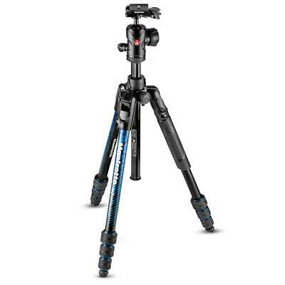 Manfrotto Befree Advanced Twist Aluminum Travel Tripod with Ball Head, Blue