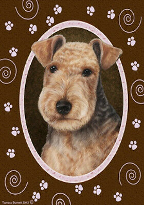 Garden Indoor/Outdoor Paws Flag - Lakeland Terrier 172341